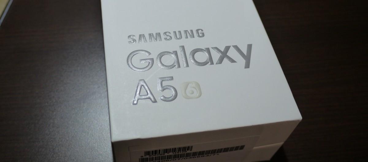 Galaxy A5 2016 (SM-A5100) 買ってみた!